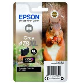 Epson Singlepack Grey 478XL Claria Photo HD Ink