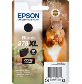 Epson Singlepack Black 378 XL Claria Photo HD Ink