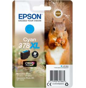 Epson Singlepack Cyan 378 XL Claria Photo HD Ink