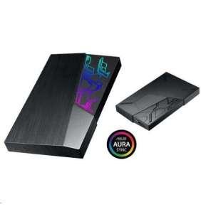 """ASUS EHD-A1T/1TB/BLK - Externí pevný disk ASUS FX, 2,5"""" Aura SYNC RGB - USB 3.1"""