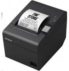 Epson TM-T20III, pokladní tiskárna, USB/LAN, 8 dots/mm (203 dpi), cutter, ePOS, black