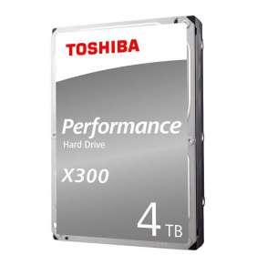 "TOSHIBA HDD X300 4TB, SATA III, 7200 rpm, 128MB cache, 3,5"", BULK"