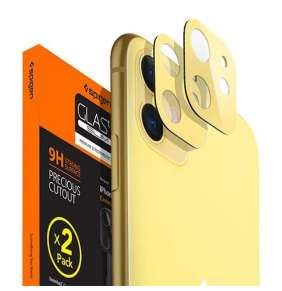 Spigen Camera Lens Screen Protector pre iPhone 11 - Yellow