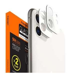 Spigen Camera Lens Screen Protector pre iPhone 11 - White
