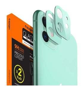 Spigen Camera Lens Screen Protector pre iPhone 11 - Green