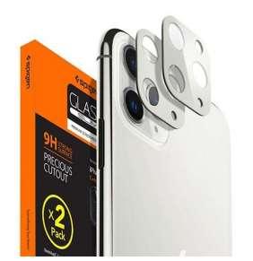 Spigen Camera Lens Screen Protector pre iPhone 11 Pro/Pro Max - Silver