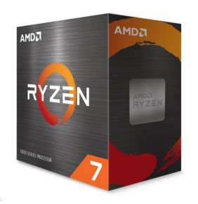 AMD, Ryzen 7 5800X, Processor BOX, soc. AM4, 105W, bez chladiča