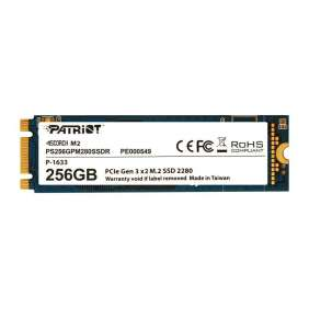 Patriot SSD 256GB Scorch NVMe PCIe Gen3x2 M.2 2280 3D TLC (č/z: 1700/780MB/s)