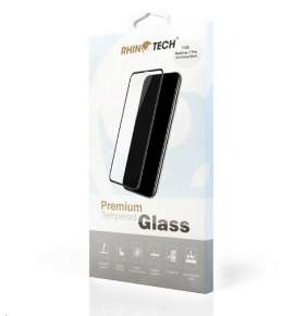 RhinoTech 2 Tvrzené ochranné 2.5D sklo pro Realme 7 Pro (Full Glue) Black