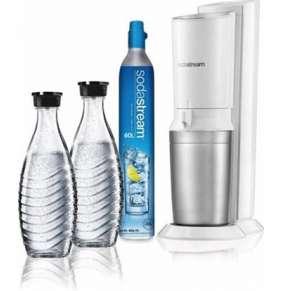 SodaStream Crystal 2.0 - Bílá + 2 Láhve
