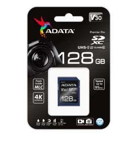 ADATA Premier Pro 128GB SDXC/ UHS-I U3 V30S CL10