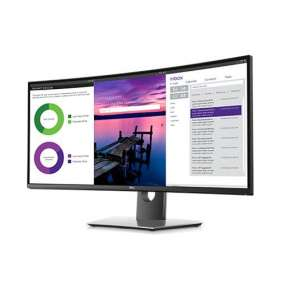 "DELL U3419W 34"" LCD Ultrasharp IPS Curved 21:9 5ms/1000:1/300cd/ VESA/ DP/ HDMI/ USB-C/3RNBD/Black"