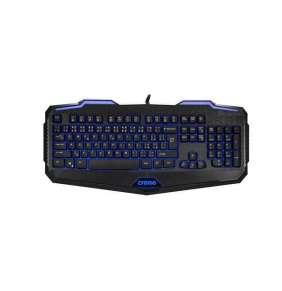 CRONO gaming klávesnice CK2110, podsvícená, CZ+SK, USB, Black