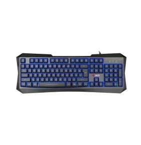 C-TECH herní klávesnice Nereus (GKB-13), CZ/SK, 3 barvy podsvícení, USB