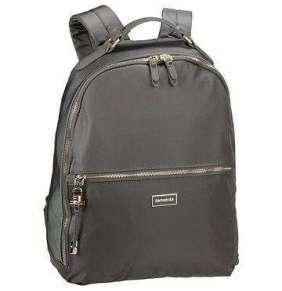"""Samsonite Karissa Biz Backpack 14,1"""" Gunmet. Green"""