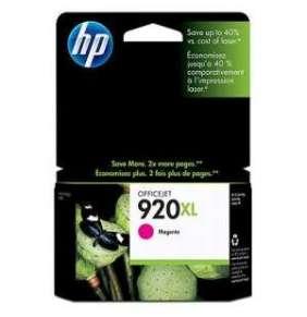 HP 920 XL - purpurová inkoustová kazeta, CD973AE