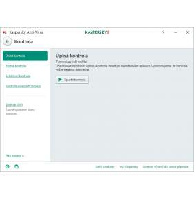 Kaspersky Anti-Virus 5x 2 roky Obnova elektronická
