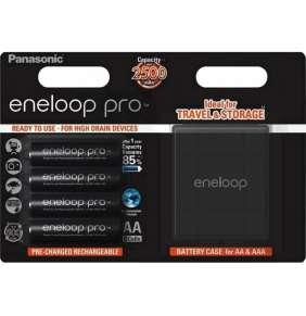 PANASONIC eneloop PRO 4xAA NiMH 2500mAh akumulátor + box