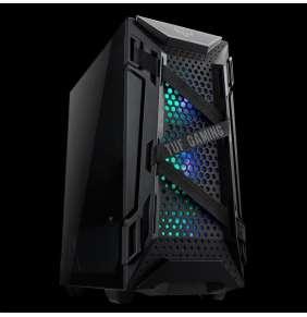 ASUS skříň TUF GAMING GT301 BLACK AURA, ATX Tower, černá, bez zdroje