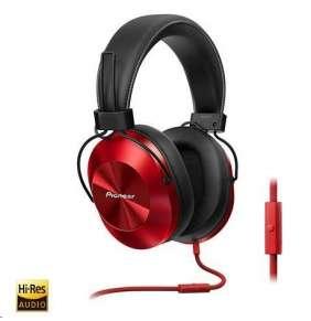 Náhlavní sluchátka-červená-SE-MS5T-R