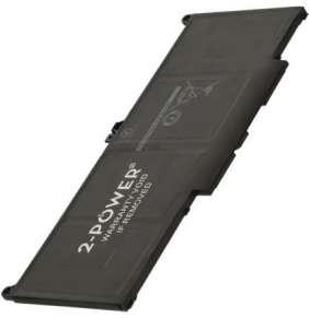 2-POWER Baterie 7,6V 7500mAh pro Dell Latitude 7300, Latitude 7400