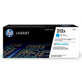 HP 212X High Yield Cyan Original LaserJet Toner Cartridge