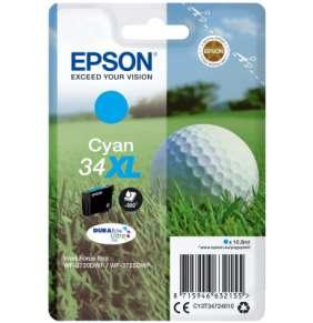 Epson Singlepack Cyan 34XL DURABrite Ultra Ink