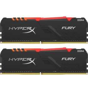 DDR 4....        32GB . 3000MHz. CL16 HyperX FURY RGB Kingston (2x16GB)