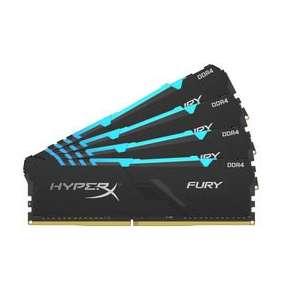 DDR 4....        64GB . 3600MHz. CL18 HyperX FURY RGB Kingston (4x16GB)