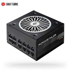 CHIEFTEC zdroj Chieftronic PowerUp GPX-850FC, 850W ATX,80PLUS GOLD,cable-mgt,retail