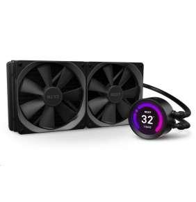 """NZXT vodní chladič Kraken Z63 / 2x 140mm fan / LGA 2066/2011(-3)/1366/1156/1155/1151/1150/AM4 / 2.36""""LCD displej / 6 let"""