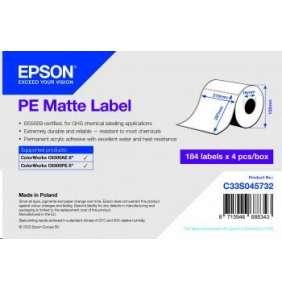 PE Matte Label 210 x 297mm, 184 lab