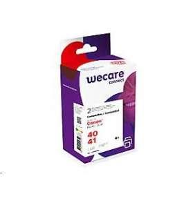 WECARE ink sada pro CANON PG40/CL41,černá/black+3