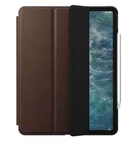"Nomad puzdro Rugged Folio pre iPad Pro 12.9"" 2020 - Rustic Brown"