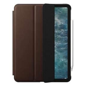 "Nomad puzdro Rugged Folio pre iPad Pro 11"" 2020 - Rustic Brown"