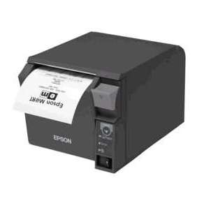 - Epson TM-T70II (025A0): Serial + Built-in USB, PS, černá, EU