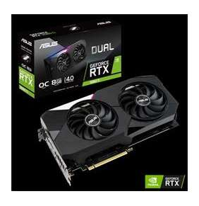 ASUS DUAL-RTX3060TI-O8G 8GB/256-bit GDDR6 2xHDMI 3xDP