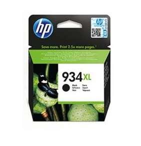 HP Čierna originálna atramentová kazeta s vysokou výťažnosťou HP 934XL- Blister