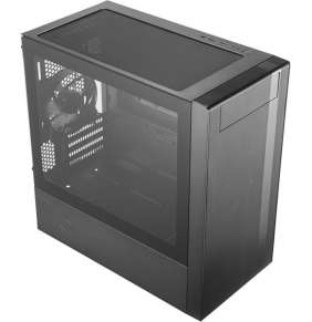 COOLER MASTER PC skříň MASTERBOX NR600 W/O ODD, černá