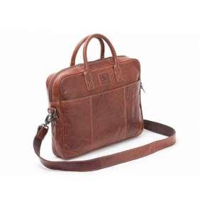 "Baoobaoo Brašňa Briefcase Soft pre MacBook 13"" Brandy"