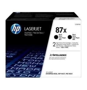 HP 87X 2-pack High Yield Black Original LaserJet Toner Cartridges (CF287XD)
