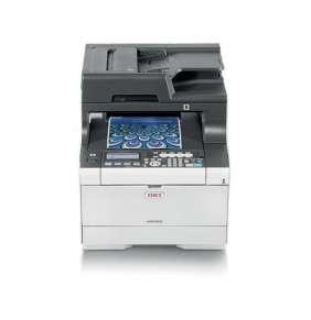 OKI MC563dn, A4 LED, color MFP, 30 strán/min, 1200x1200, USB, LAN, duplex