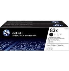 HP 83X 2-pack High Yield Black Original LaserJet Toner Cartridges (CF283XD)