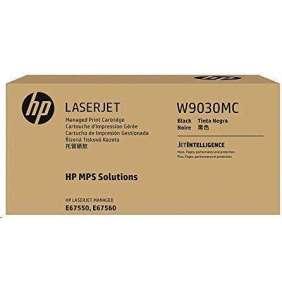 HP Black Managed LJ Toner Cartridge, W9030MC