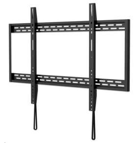 "MANHATTAN nástěnný držák TV (60"" to 100""), Heavy-Duty Low-Profile Large-Screen TV Wall Mount, pevný, tenký design, černá"