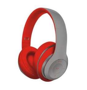 Platinet FREESTYLE BLUETOOTH sluchátka šedá/červená