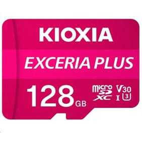 KIOXIA Exceria Plus microSD card 128GB M303, UHS-I U3 Class 10