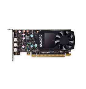 PNY Quadro P400 V2 DVI / 2GB GDDR5 / PCI-E / 3x miniDP 1.4 / Low profile bracket v balení