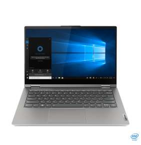 "LENOVO ThinkBook 14s Yoga ITL - i5-1135G7@4.2GHz,14"" FHD IPS,8GB,256SSD,W10P,Šedá,1r carry-in"