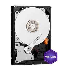 """WD HDD PURPLE 6TB / WD62PURZ / SATA 6Gb/s / Interní 3,5"""" / 5400rpm / 128MB"""